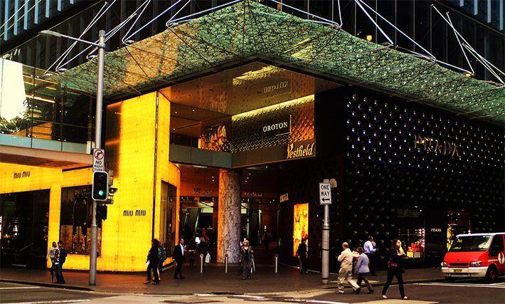 Miu Miu Store Next to Prada, Westfield, Sydney CBD