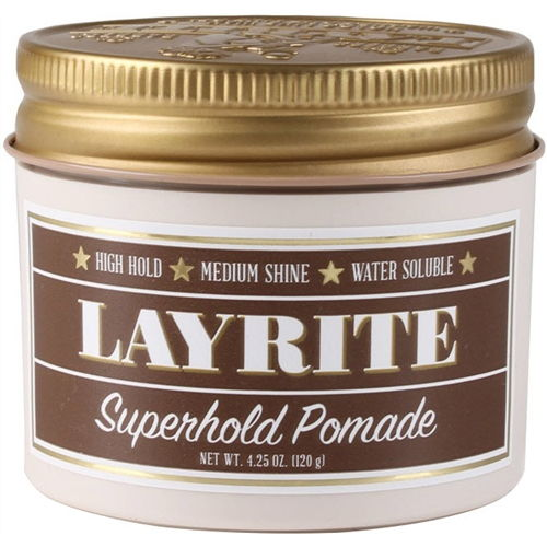 Layrite Superhold Pomade Styling by LAYRITE