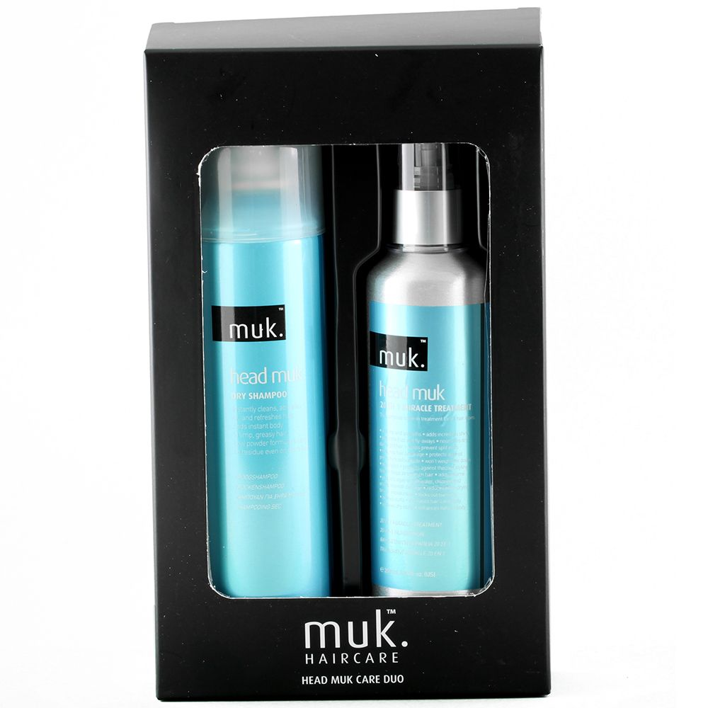 Head Muk Care Duo Treatment, Styling by MUK