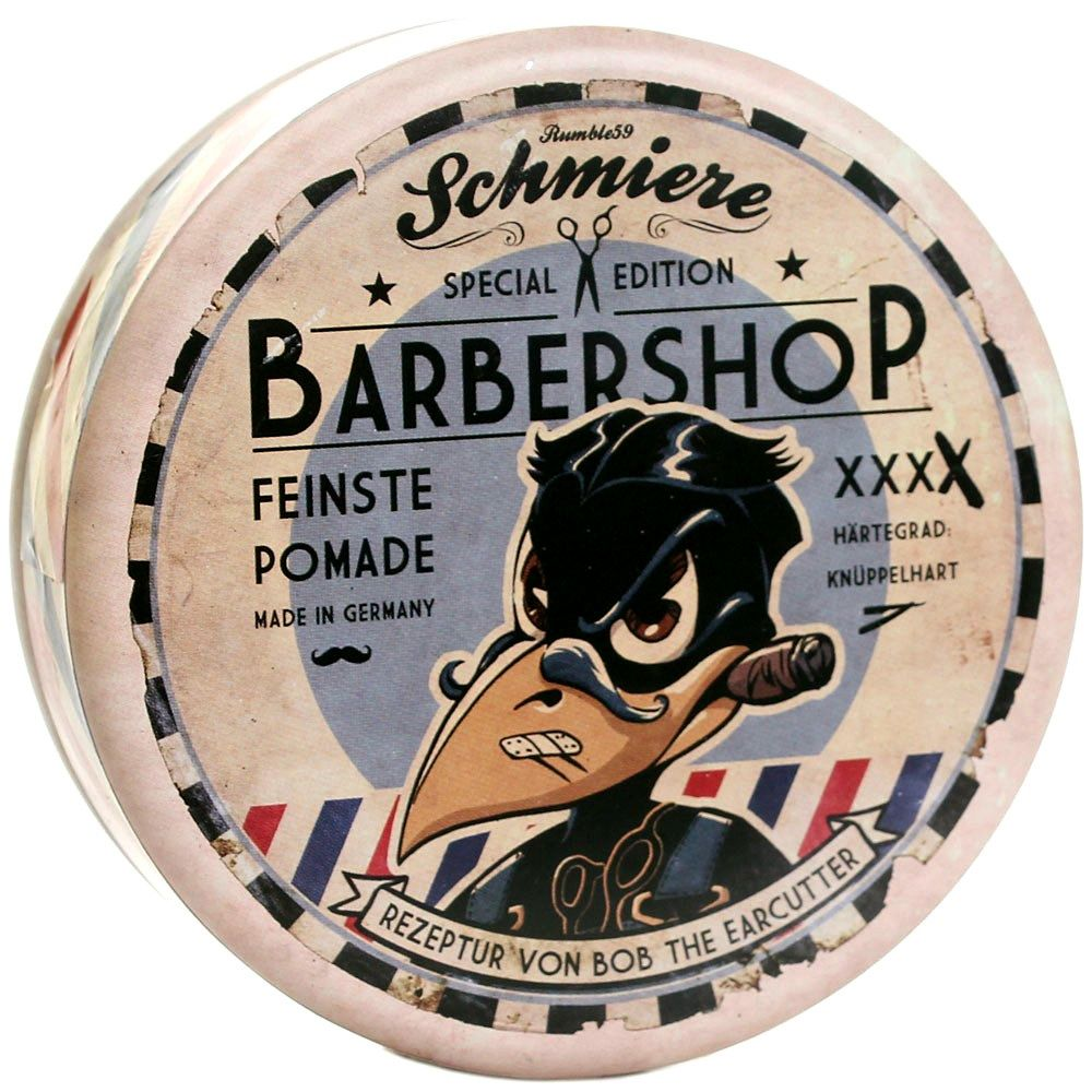 Barbershop Edition Rock Hard Pomade Styling by SCHMIERE