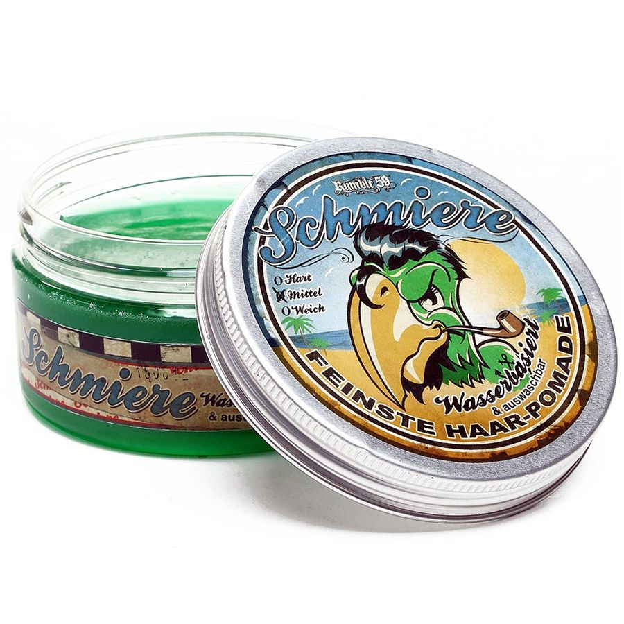 Water Based Pomade Medium Styling by SCHMIERE