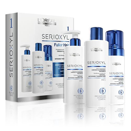 Serioxyl 1 Kit For Natural Thinning Hair by Loreal ...