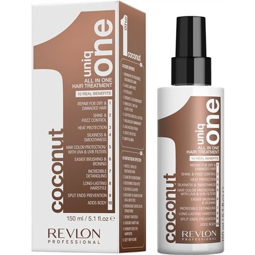 Uniq One Coconut Treatment, Styling by REVLON PROFESSIONAL